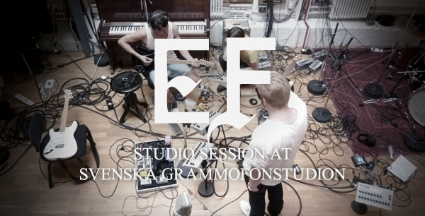 EF in the studio